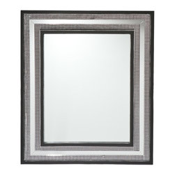 Holly & Martin - Bamburgh Decorative Mirror - This decorative wall mirror is a wonderful addition to any room in need of that little something. The frame upon frame design catches the eye without overwhelming a room.