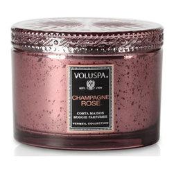 VOLUSPA - Corta Maison Candle - Champagne Rose - Champagne Rose