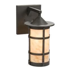 Steel Partners Inc - Wet Sconce - Pasadena - SAN CARLOS - Every piece we create is unique handcrafted at our factory in Chehalis, Washington, USA. Due to this, lead times are 2 to 4 weeks.