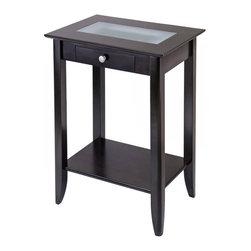Winsome - Winsome Syrah Solid Wood End Stand in Espresso - Winsome - Accent Tables - 92822