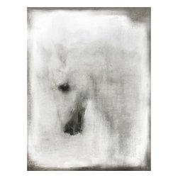 Camargue Horse Artwork - 40 x 53 Camargue Horse