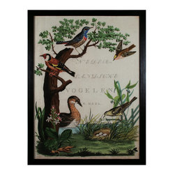 """Sterling Industries - Sterling Industries 10076-S1 42.5"""" Height Duck Sanctuary Wall Art - Specifications:"""