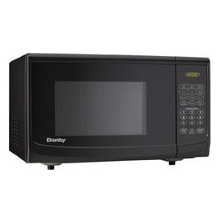 "Danby - .7 cu. ft., 700 watts Microwave, Black - Danby�s counter top microwaves are not only practical and economical, they�re stylish too!  Danby microwaves are well suited for the dorm room, office, cottage or kitchen. 0.7 cu. ft. capacity microwave, 700 watts of cooking power, 10 power levels, Simple one touch cooking for 6 popular uses, 3 specialty programs (cook by weight, defrost by weight, speed defrost), Easy to read LED timer/clock, Automatic oven light & turntable, Unit dimensions 17 5/16"" W x 12 15/16"" D x 10 3/16"" H"