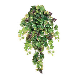 Silk Plants Direct - Silk Plants Direct Grape Leaf Hanging Plant (Pack of 6) - Silk Plants Direct specializes in manufacturing, design and supply of the most life-like, premium quality artificial plants, trees, flowers, arrangements, topiaries and containers for home, office and commercial use. Our Grape Leaf Hanging Plant includes the following: