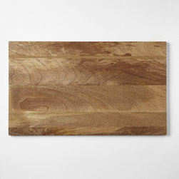 Raw Wood Placemat - Use these wooden placemats to warm up any table. They're absolutely striking used over a linen tablecloth. Have them monogrammed for an extra-special gift idea.