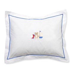 Baby Boudoir Pillow, Sailor Teddy