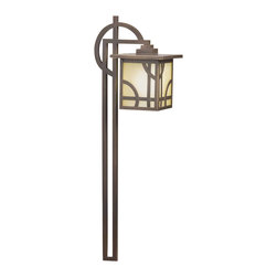 Kichler - Kichler Larkin Estate Outdoor Landscape Lighting Fixture in Olde Bronze - Shown in picture: Path Light in Olde Bronze