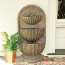 Traditional Outdoor Fountains And Ponds by Ballard Designs