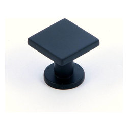 Stone Mill Hardware - Stone Mill Hardware The Matte Black SoHo Cabinet Knob - Stone Mill Hardware - The Matte Black SoHo Cabinet Knob
