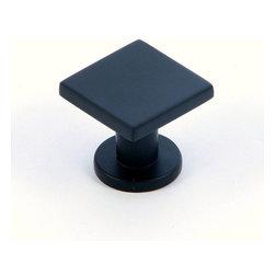 Stone Mill Hardware - Stone Mill Hardware The Matte Black SoHo Cabinet Knob - Stone Mill Hardware - The Matte Black SoHo Cabinet Knob