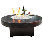 Gas Fire Pit Oriflamme Tuscan Fire Pit 38 Quot Round