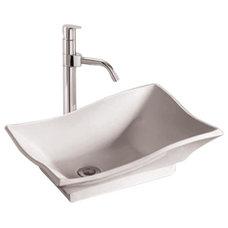 Contemporary Bathroom Sinks by PoshHaus