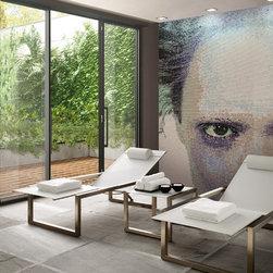 Mosaic Wall Art - Create your own custom mosaic design using Vetrina glass.