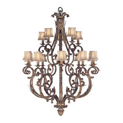Stile Bellagio Chandelier, 141940ST