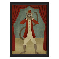 The Artwork Factory - 'Speak No Evil' Print - Museum quality artwork that's more fun than a barrel of monkeys. This print makes a witty artistic statement in your decor, whether you choose to hang it solo or with the rest of the trio.