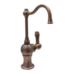 Whitehaus - Whitehaus Whfh3-C4121-Ab Faucet - Point of use drinking water faucet with traditional spout
