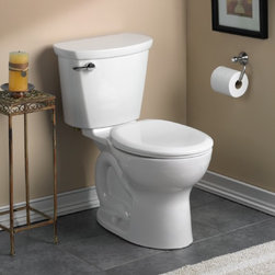 """American Standard Cadet PRO Round Front 10"""" Rough-In Toilet - •Features the Cadet® Flushing System"""