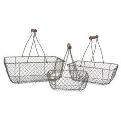 contemporary baskets by Hobby Lobby