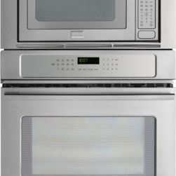 """Frigidaire - FPMC3085PF Professional 30"""" 4.6 cu. ft. Capacity Microwave Combination Oven  wit - FPMC3085PF Professional 30 46 cu ft Capacity Microwave Combination Oven with Convection System Pro-Select Controls 16 Turntable and 10 Power Levels in Stainless Steel Extra Large Windows with Pro-Tint finish and chicken nugget option"""