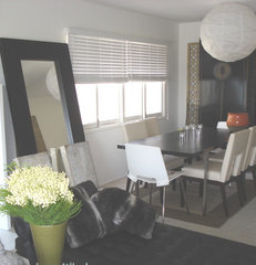 modern dining room by lorraine Pennington