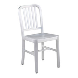 Euro Style - Euro Style Cafe Side Chair Set of 2 04180 - A basic side chair? Hardly. The design and construction of the Cafe Chair is as classic as it is indestructible. Light weight and easy to move around, you're sitting pretty everywhere.