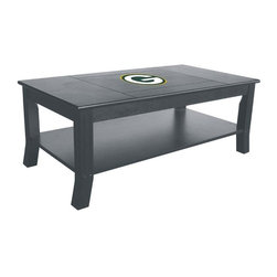 Imperial International - Green Bay Packers NFL Coffee Table - Take a look at this great Coffee Table. It's a perfect accessory for your Man Cave, Game Room, Garage or Basement.