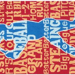 The Rug Market - Batter Up! area rug -