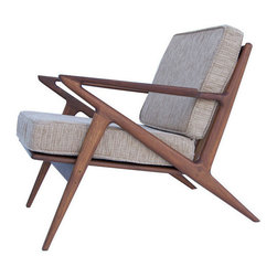 Rustic Reclaimed Teak Handmade Lounge Chair - Settle into comfort and sophistication with this hand-crafted teak chair that looks like something straight out of a swanky Palm Springs vacation home. Pour yourself a cocktail and relax.