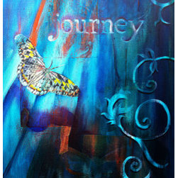 Journey (Original) by Michael Bond - Life is a journey - there is no destination, only the journey. Just as a butterfly morphs from a caterpillar to continue its journey, we to can morph ourselves and continue our journey towards the heavens.