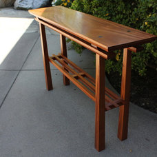 Asian Side Tables And End Tables by Arroyo WoodWorks