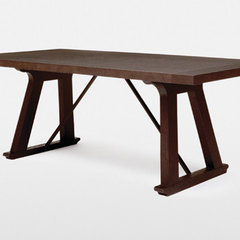 contemporary dining tables by Holly Hunt