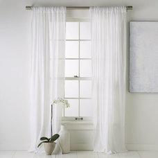Modern Curtains by West Elm