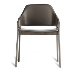 Blu Dot | Clutch Leather Dining Chair -