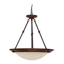 Capital Lighting - Capital Lighting 2720 3 Light Ceiling Pendant with Canopy Kit - Capital Lighting 3 Light Ceiling Pendant with Canopy Kit