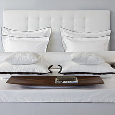 Modern Bed Pillows And Pillowcases by michal ravet home couture
