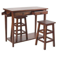Contemporary Indoor Pub And Bistro Tables by Home Depot