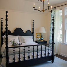 Traditional Bedroom by Elizabeth Hagins Interior Design