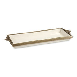IMAX CORPORATION - Erinn Tray w/ Brass Trim - Erinn Tray w/ Brass Trim. Find home furnishings, decor, and accessories from Posh Urban Furnishings. Beautiful, stylish furniture and decor that will brighten your home instantly. Shop modern, traditional, vintage, and world designs.