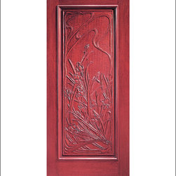 Carved and Mansion Entry Doors Model # 7 - Our Carved and Mansion doors are hand carved by master craftsman.  They will certainly add to the wow factor of any entrance exterior or interior.  The doors are Mahogany and can be stained and finished in a variety of colors to complement your homes beauty.  You may also like our International collection which is inspired by world design.