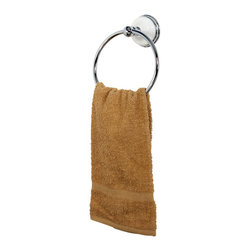 "DecorSuite - 6"" Towel Ring - Fabricated from solid brass material for durability and reliability, Premium color finish to resist tarnishing and corrosion, Easy to install, Matching collection available, One Year Limited Warranty to the original consumer to be free from defects in material and finish."