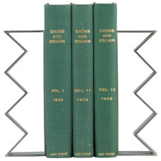 Modern Bookends by CB2