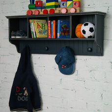 Traditional Toy Storage by Rosenberry Rooms