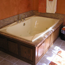 Traditional Bathroom by River Valley Cabinet Works