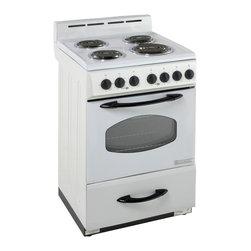 "Avanti - Avanti 24"" White Electric Range Oven - Avanti 24"" white electric range oven."