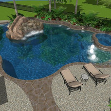 Traditional Rendering by Cypress Custom Pools