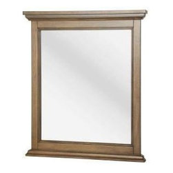 Foremost - Foremost Montevallo 30-3/4 in. x 26-1/4 in. Wall Mirror (FMMOHM2631) - Foremost FMMOHM2631 Montevallo 30-3/4 in. x 26-1/4 in. Wall Mirror, Weathered Pine