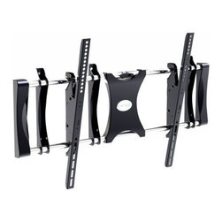 "PYLE - PSW531XLT Pyle Tilt TV Wall Mount - This Universal TV Mount fits virtually any 50 to 80 TV sold today. That includes the latest flat panel screens including, Plasma, LCD, 3D & Smart TVs. It's also equipped with a universal bracketry system to ensure all the holes align and your TV will be mounted safely and securely. And the built-in level system will help you correctly install the unit. Give yourself a larger living space and mount your TV on the wall or keep it at a safe distance away from children and pets. Strong and durable construction will allow you to hang it wherever you want and enjoy your TV exactly the way you want. The universal wall mount has an impressive maximum load capacity so it will hold onto some of the heaviest TVs and the slender design provides minimal distance between your wall and TV.      Universal brackets easily hook onto the wall plate for fast installation.    Tilt and leveling adjustments.    Bulit in leveler system.    Max load: 176lbs.    Vesa: 31.5""x23.6"".    Distance to the wall: 3.1"".    Dimension: 40.2"" x 24.8"" x 3.1"".     Model: PSW531XLT"