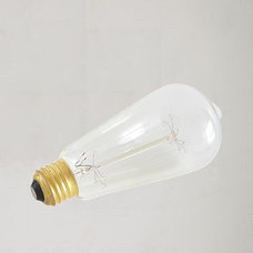 modern light bulbs by West Elm
