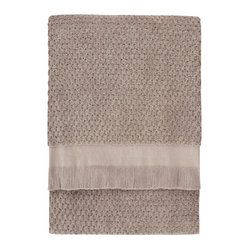 Dotty Bath Towel, Oatmeal