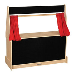 ECR4KIDS - ECR4KIDS Puppet Theater - Flannel Multicolor - ELR-0693 - Shop for Puppets from Hayneedle.com! About Early Childhood ResourcesEarly Childhood Resources is a wholesale manufacturer of early childhood and educational products. It is committed to developing and distributing only the highest-quality products ensuring that these products represent the maximum value in the marketplace. Combining its responsibility to the community and its desire to be environmentally conscious Early Childhood Resources has eliminated almost all of its cardboard waste by implementing commercial Cardboard Shredding equipment in its facilities. You can be assured of maximum value with Early Childhood Resources.